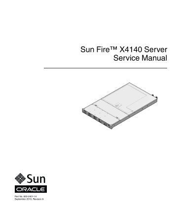 sun fire t2000 server service manual oracle documentation rh yumpu com