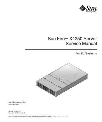 sun fire t2000 server service manual oracle documentation rh yumpu com