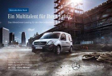 Alleskönner-Leasing für den Citan (PDF, 413 - Mercedes-Benz ...