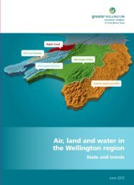 Air, land and water in the Wellington region - Greater Wellington ...