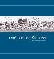 The Richelieu River - Ville de Saint-Jean-sur-Richelieu
