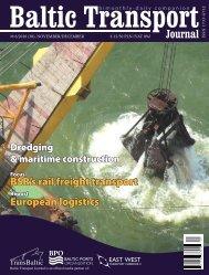 European logistics BSR's rail freight transport - Baltic Transport ...