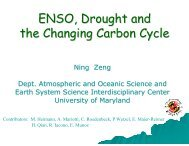 ENSO, Drought and the Changing Carbon Cycle - Global Carbon ...