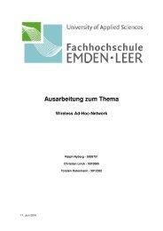 7 Sicherheit im Ad-Hoc-Netzwerk - tostermann.de