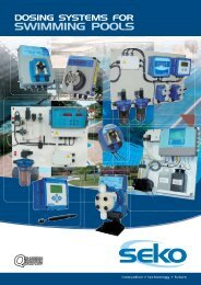 dosing systems for swimming pools - Seko