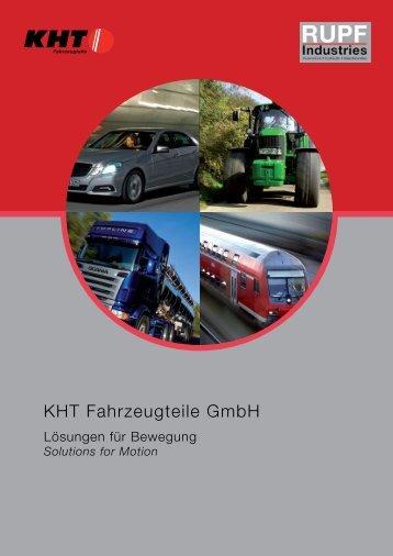 KHT Fahrzeugteile GmbH - Rupf Industries
