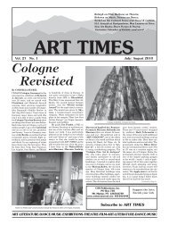 July/ August 2010 - Art Times