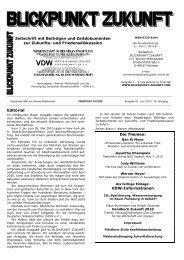 Handbuch Zukunft 2010 - BLICKPUNKT ZUKUNFT
