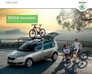 Roomster Zubehör Preisliste[PDF] - Skoda