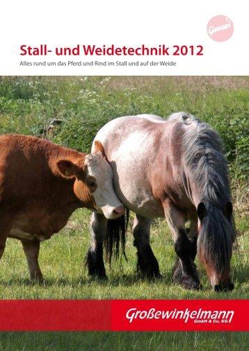 stall- und Weidetechnik 2012 - Großewinkelmann