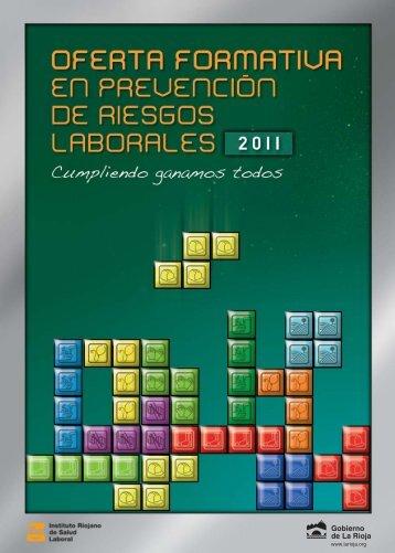 Folleto de cursos del IRSAL 2011
