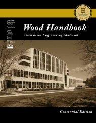 Wood Handbook, Front Matter - Oregon Wood Innovation Center