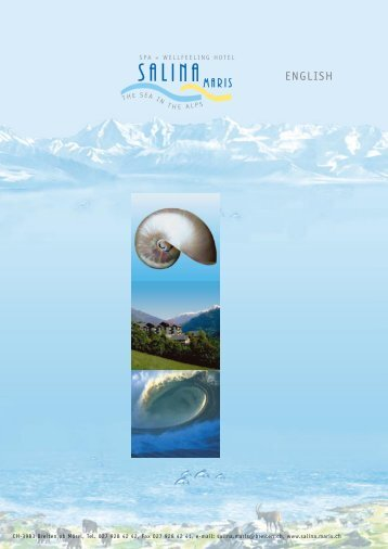 Our time is yours Swiss Spa slimming hiking wellfeeling ... - Breiten