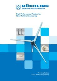 High Performance Plastics for Wind Turbine Engineering - Röchling