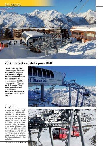 2012 : Projets et d