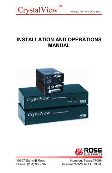 CrystalView - Rose Electronics