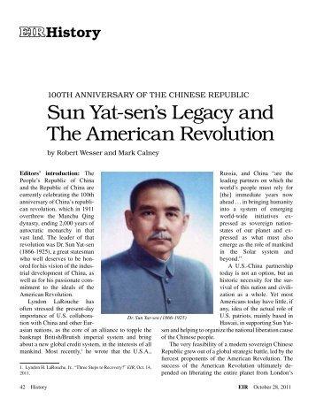 Sun Yat-sen's Legacy and The American Revolution