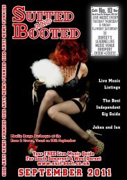 Matthew Rock Sat 10th - Suited & Booted