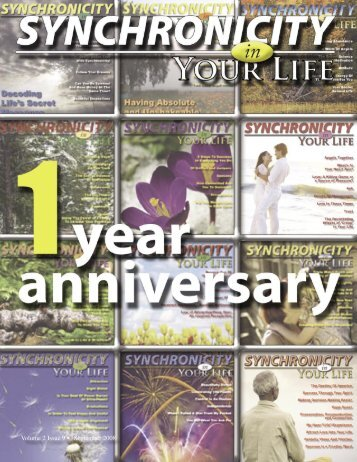 Volume 2 Issue 9 • September 2008 - Synchronicity