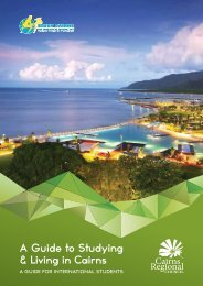 A Guide to Studying & Living in Cairns - Cairns Regional Council