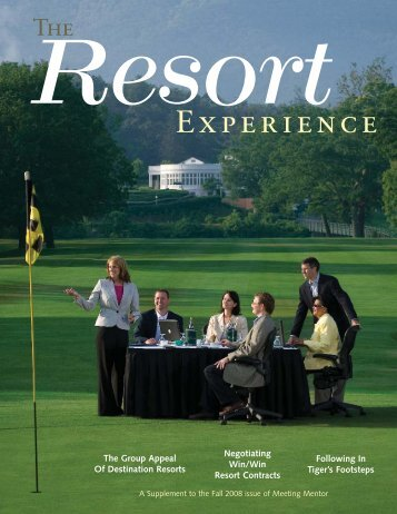 The Resort Experience - Experient