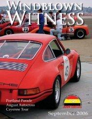 Portland Parade August Autocross Cayenne Tour - Porsche Club of ...