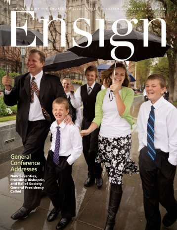 May 2012 Ensign - The Church of Jesus Christ of Latter-day Saints
