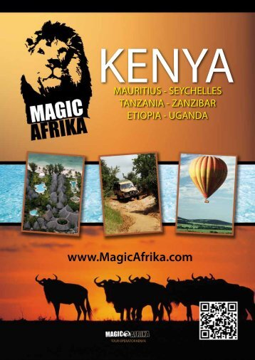 Scarica il catalogo Voli & Soggiorni - Patric Safari - The Kenya Dream