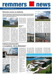 Remmers News nr 8 3/2010