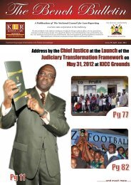 Bench Bulletin - Issue 19 - Kenya Law Reports