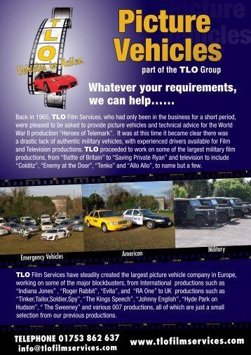 Picture Vehicles [pdf] - tlo film services
