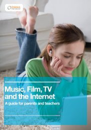 Music, Film, TV and the Internet - Pro Music