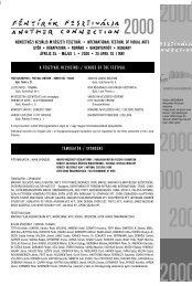 Katalógus 2000 - Mediawave