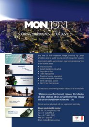 """""""Monjon is our preferred security company. Their attention to detail ..."""