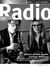 Silvester mit Anke Engelke und Roger Willemsen - WDR.de