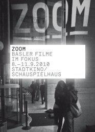 Zoom BASLER FILmE Im FoKUS 8.–11.9.2010 ... - ZOOM - Balimage