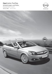 Opel Astra Twintop - Garage im Steiger AG