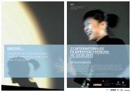 Sponsoringdossier 2013 - Festival International de Film de Fribourg