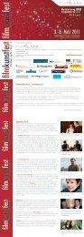 Übersicht über das Filmkunstfest (PDF 4 MB) - PROGRESS Film ...