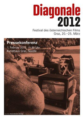Pressekonferenz - Diagonale