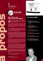A Propos Nr. 75 Winter 2004/2005 - SSA