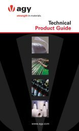 Technical Product Guide - AGY