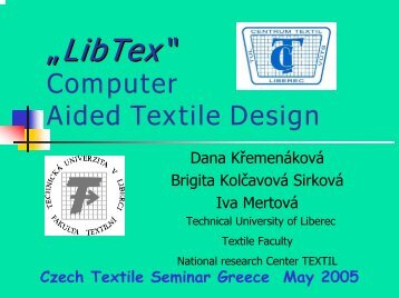 computer aided design of textile structures and ... - Centrum Textil