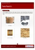 are Manufacturer & exporter of Jute Hand Spun Yarn, Jute Braided ... - Page 5