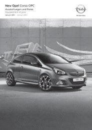 Preisliste Opel Corsa OPC - Garage im Steiger AG