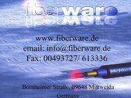Vortrag fiberware.PPT [Schreibgeschützt]