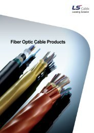 Fiber Optic Cable Products - LS Cable & System
