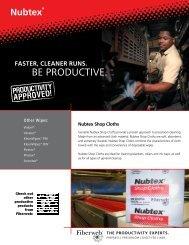 Download Nubtex Shop Cloths Sell Sheet - Fiberweb Graphic Arts ...