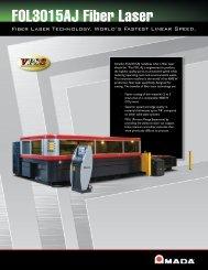 FOL3015AJ Fiber Laser - Amada
