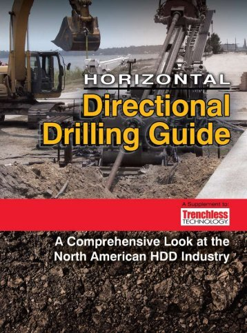 2011 Horizontal Directional Drilling Guide - TrenchlessOnline